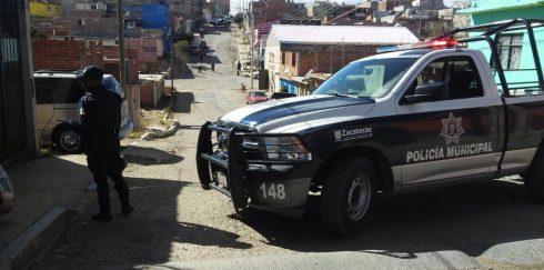 Agreden a hombre en la colonia La Toma, en Zacatecas