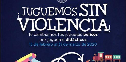 """INICIO DE LA CAMPAÑA """"JUGUEMOS SIN VIOLENCIA"""""""