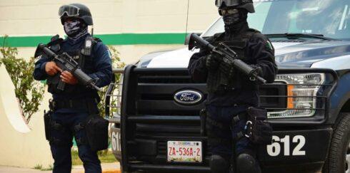 POLICÍA ESTATAL RESCATÓ EN FRESNILLO A VÍCTIMAS DE EXTORSIÓN TELEFÓNICA