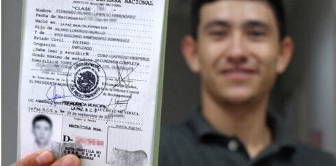 LA SECRETARÍA DE LA DEFENSA NACIONAL AMPLÍA PERIODO DE ENTREGA DE CARTILLAS DEL SERVICIO MILITAR NACIONAL Y HOJA DE  LIBERACIÓN, CLASE 2000 Y REMISOS