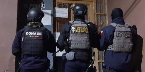 TRAS CUMPLIMENTAR ORDEN DE CATEO EN JEREZ ASEGURARON EQUIPO TÁCTICO, CARGADORES Y MARIHUANA