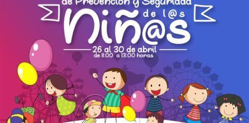 INVITA SSP A PARTICIPAR EN LA PRIMER JORNADA DE PREVENCIÓN Y SEGURIDAD DE LOS NIÑ@S