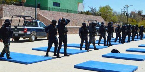 A TRAVÉS DEL IFP, SECRETARÍA DE SEGURIDAD CAPACITA A 256 POLICÍAS EN UNA SEMANA