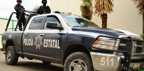 POLICÍA ESTATAL DETUVO EN GUADALUPE A TRES PERSONAS POR LA PORTACIÓN DE UN ARMA DE FUEGO Y POSESIÓN DE PROBABLE DROGA