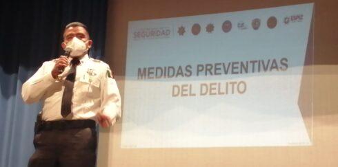 PARTICIPA SSP EN JORNADA DE ESTRATEGIAS DE PREVENCIÓN DEL DELITO DIRIGIDO A PERSONAL DE SECTOR SALUD